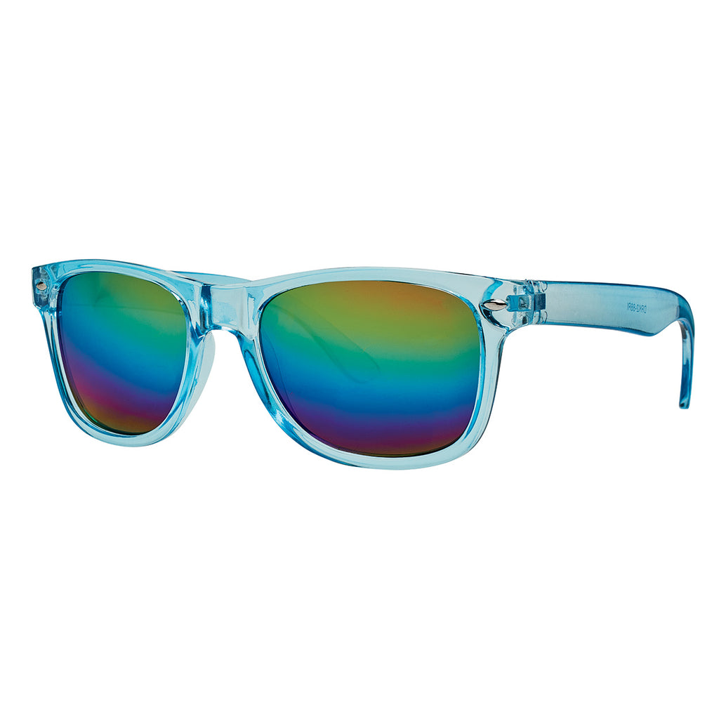 Kids Blue Wayfarer Sunglasses UV 400