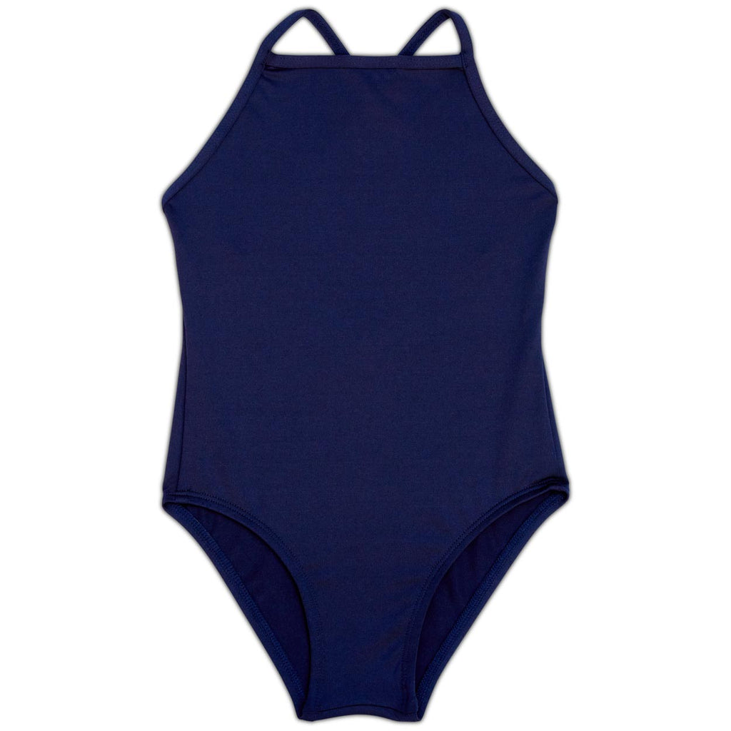 Navy Girls' Swimsuit UPF 50+ Sun Pop Life®