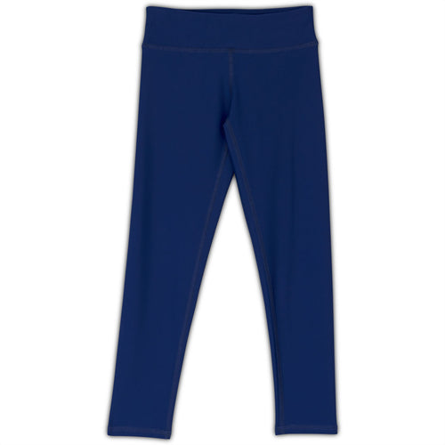Navy Hybrid Youth Leggings UPF 50+