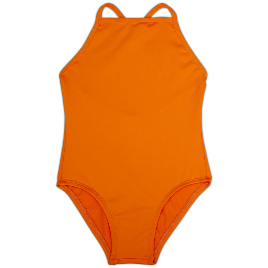 Orange Girls' Swimsuit UPF 50+ Sun Pop Life®
