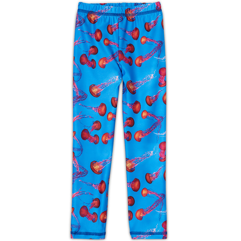 Red Jellyfish Leggings Kids Sunpoplife