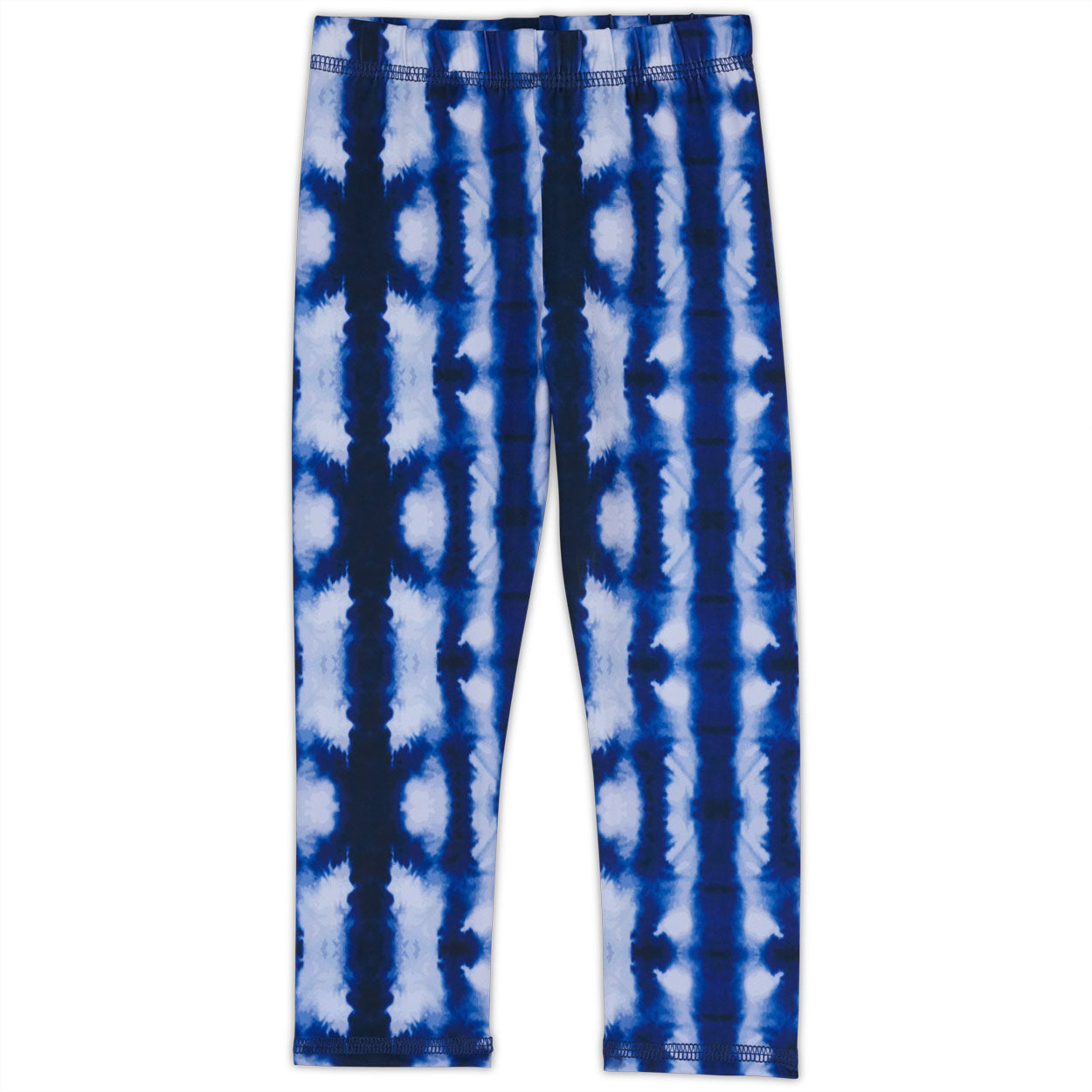 Shibori Hybrid Kids Leggings UPF 50+