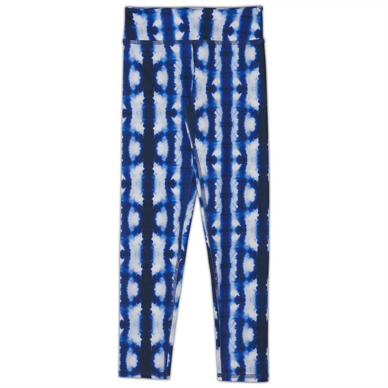 Shibori Hybrid Youth Leggings UPF 50+ for Kids