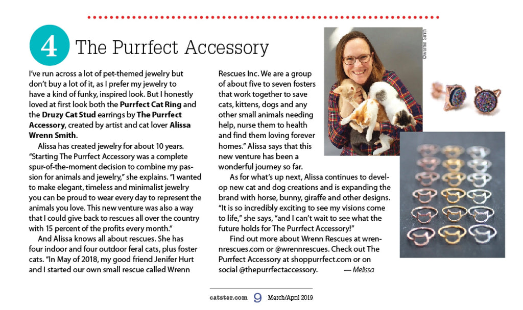 Feature in Catster Magazine!