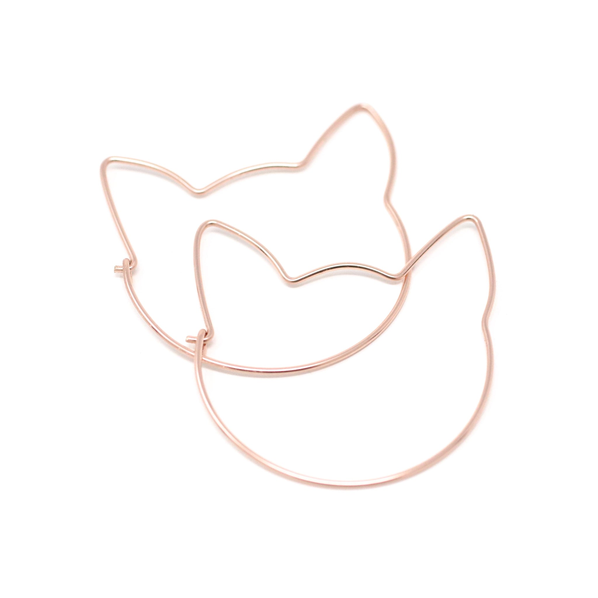 EARRINGS The Cat Hoops