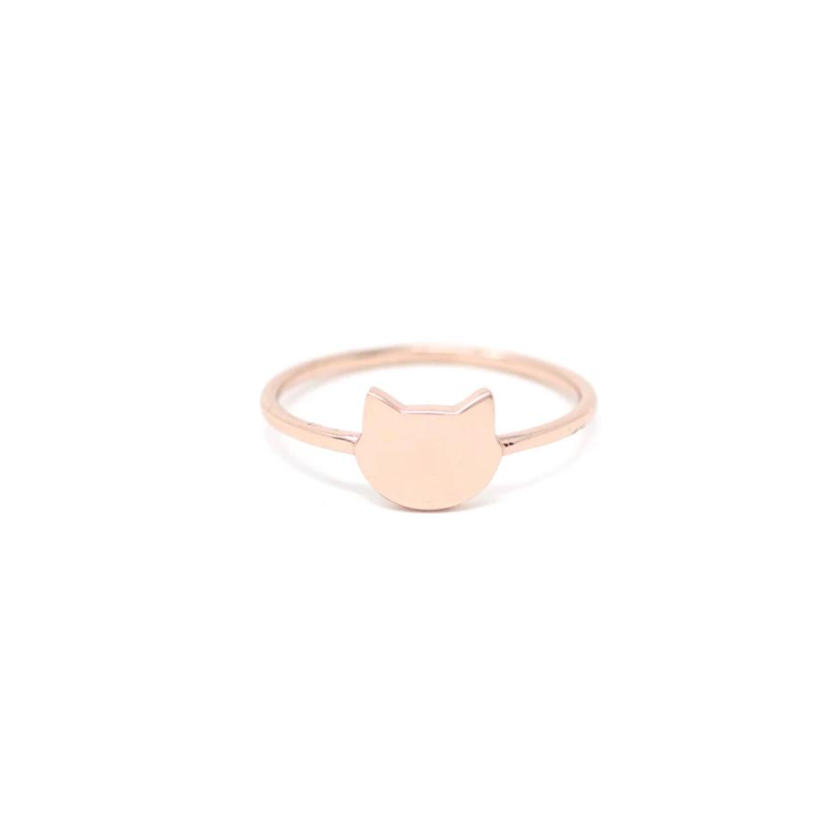 The Minimalist Cat Ring