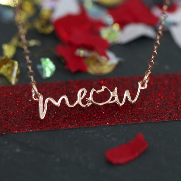 The Meow Necklace