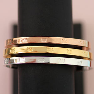 The Multi Cat Cuff Bracelet