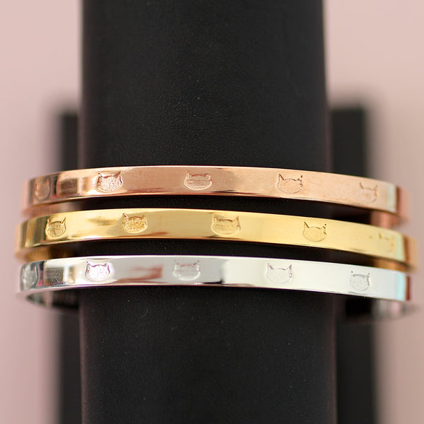 The Multi-Cat Cuff Bracelet
