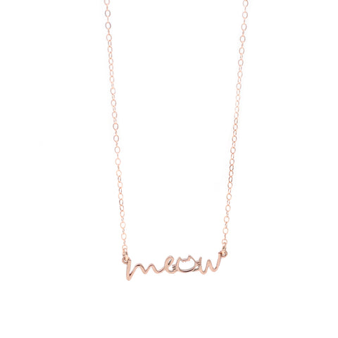 The Meow Cat Necklace