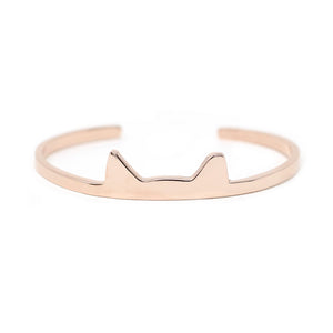 The TNR Ear-Tipped Cat Cuff Bracelet