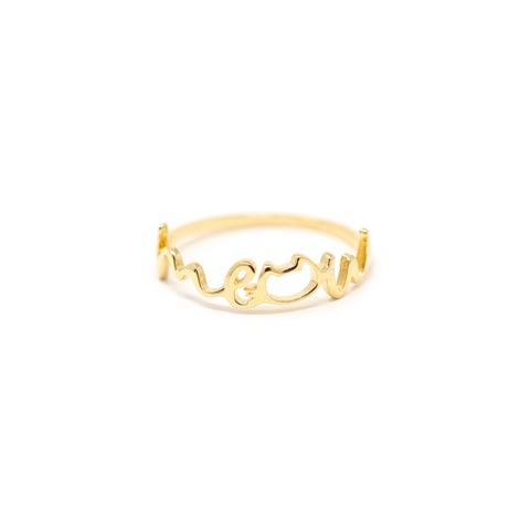 SALE! The Meow Cat Ring