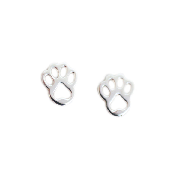 The Paw Stud Earrings