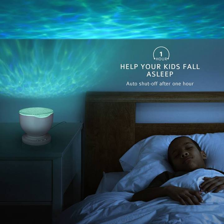 Sea Reflection™ - Ocean Wave Night Light Projector