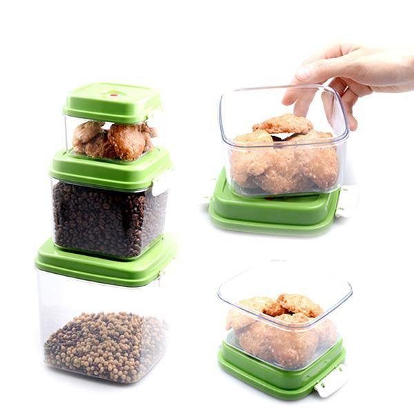Vacuum storage box (3 Pcs)