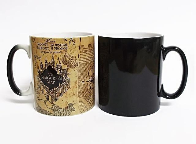 HEAT MAGIC MARAUDER'S MAP MUG