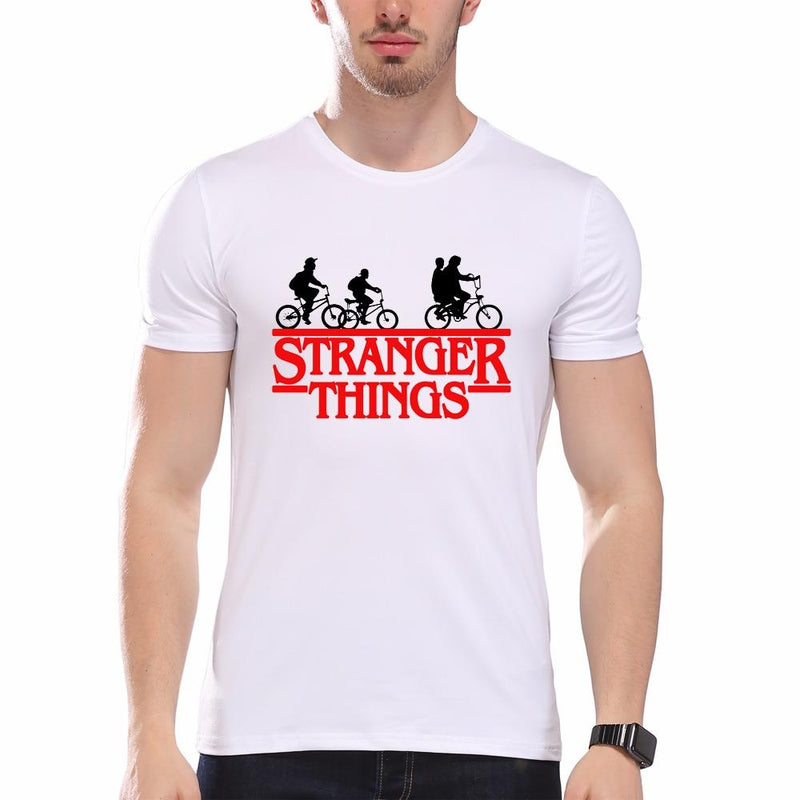Newest 2017 Fashion Stranger Things T Shirt Men Tees Brand Clothing Funny Novelty Cool Tops Men's Short Sleeve pb588