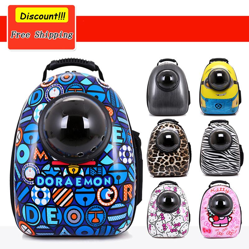 Space Capsule Astronaut For Pet Cat Backpack With Bubble Window