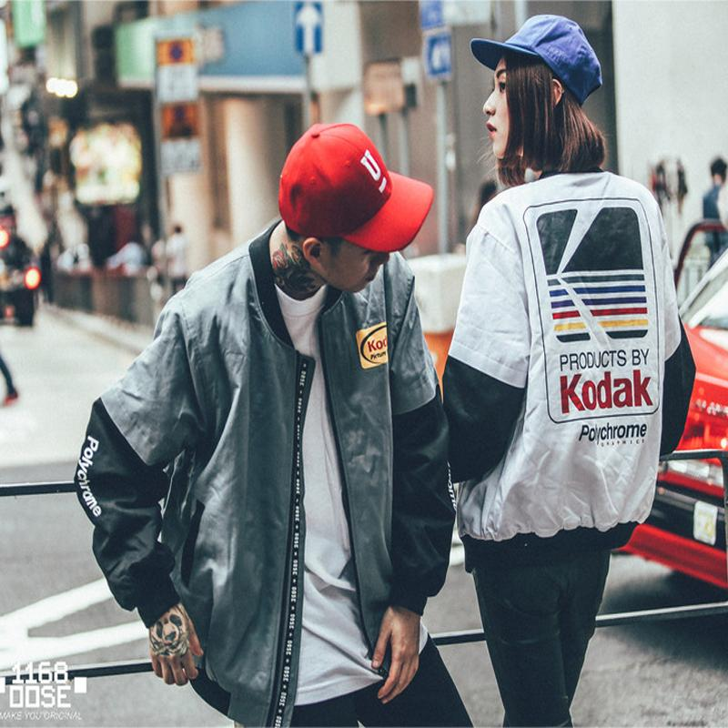 Women Men Kodak Bomber Jacket