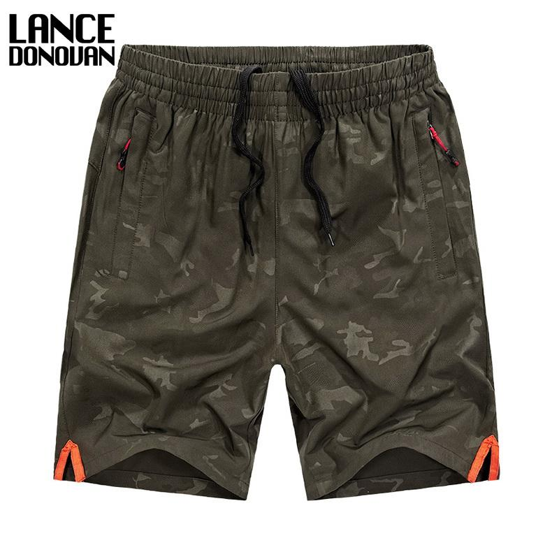 AVAILABLE SIZE L-6XL 7XL 8XL 60-140KG FIT Waist 29-46 Inch 92% Polyester 2017 New Mens Camouflage shorts