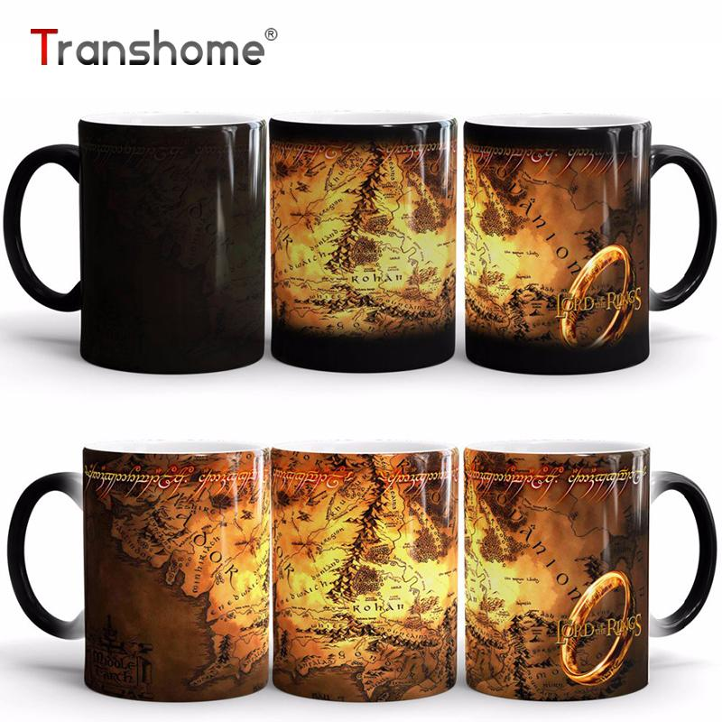 Transhome Color Changing Coffee Mug The Lord Of Rings