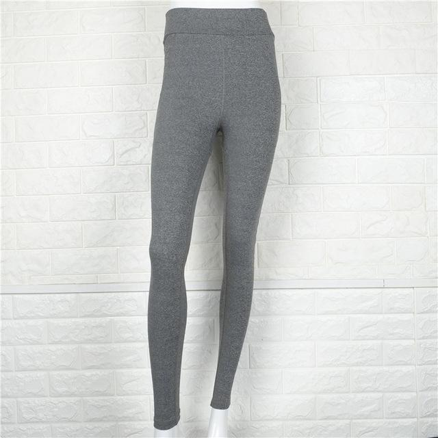 Women Black/Grey Sport Yoga  Pants