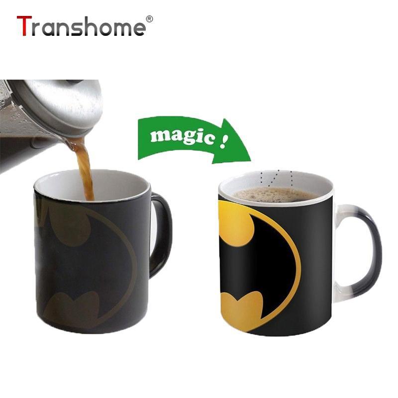 Transhome Batman Coffee Color Changing Mug