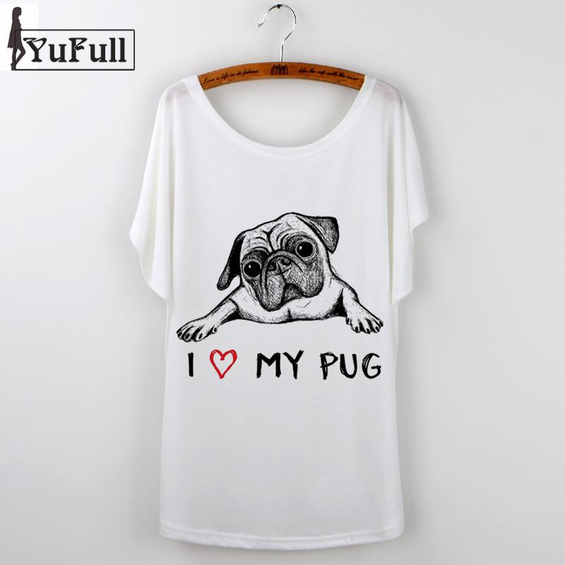 Korean Graphic French Bulldog T-Shirt