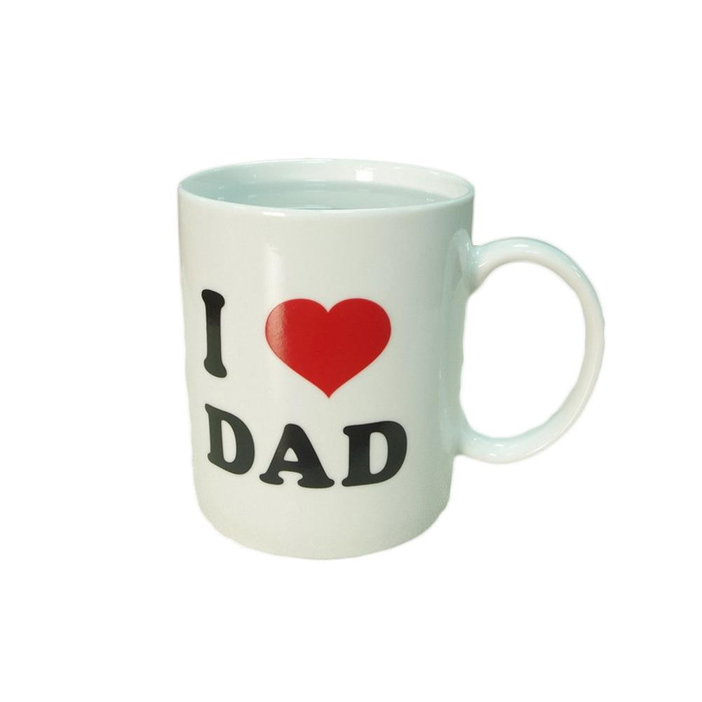 """I love Dad"" Magic Color Changing Mugs"