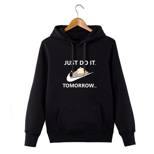 New Lazy Just Do It Hoodie