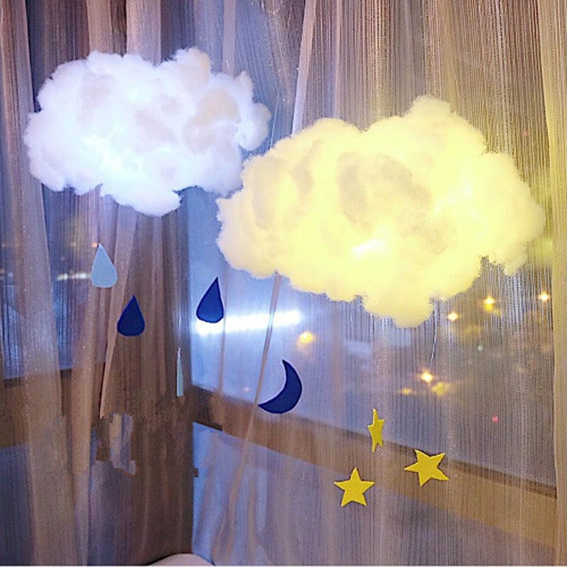 DIY Handmade Lamp Cotton Cloud