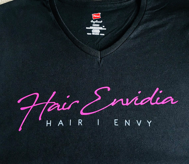HAIR Envidia V-Neck Fitted Tee