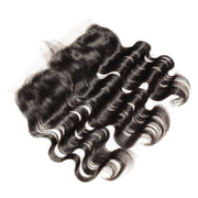 Brazilian Body Wave Virgin Indian Remy Human Hair Frontal