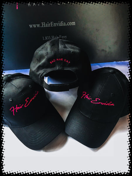 HAIR Envidia Adjustable Baseball Hat.  The perfect accessory for those relaxed days, head cover for running errands or when you just want to be incognito with your favorite pair of shades.