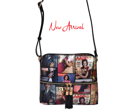 Obama Messenger Bag With Tassels