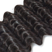 Thick Deep Wave Human Hair Weave For Long Hair