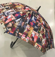 """On Sale""  Obama Magazine Print Umbrella"