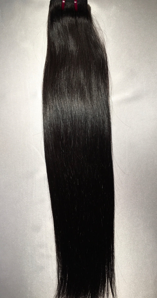 Malaysian Straight 18 Inch Human Hair Extensions