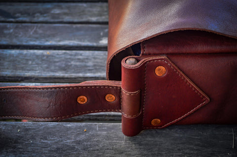 Leather, Wood, and Copper