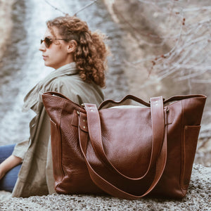 Leather Luxury Bags for Travel