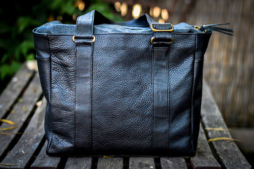 Leather Weekender Bag - Made to Order - USA made