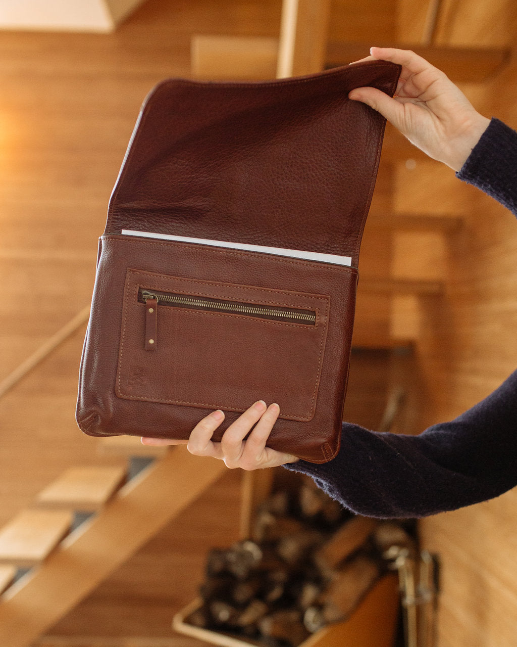 Luxury Leather Goods for Tech