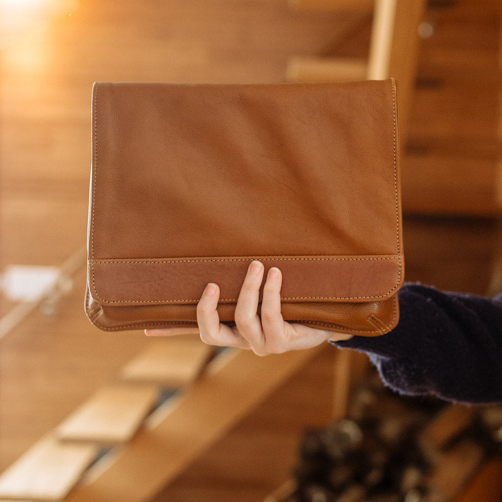Sustainable Leather Laptop cases for work