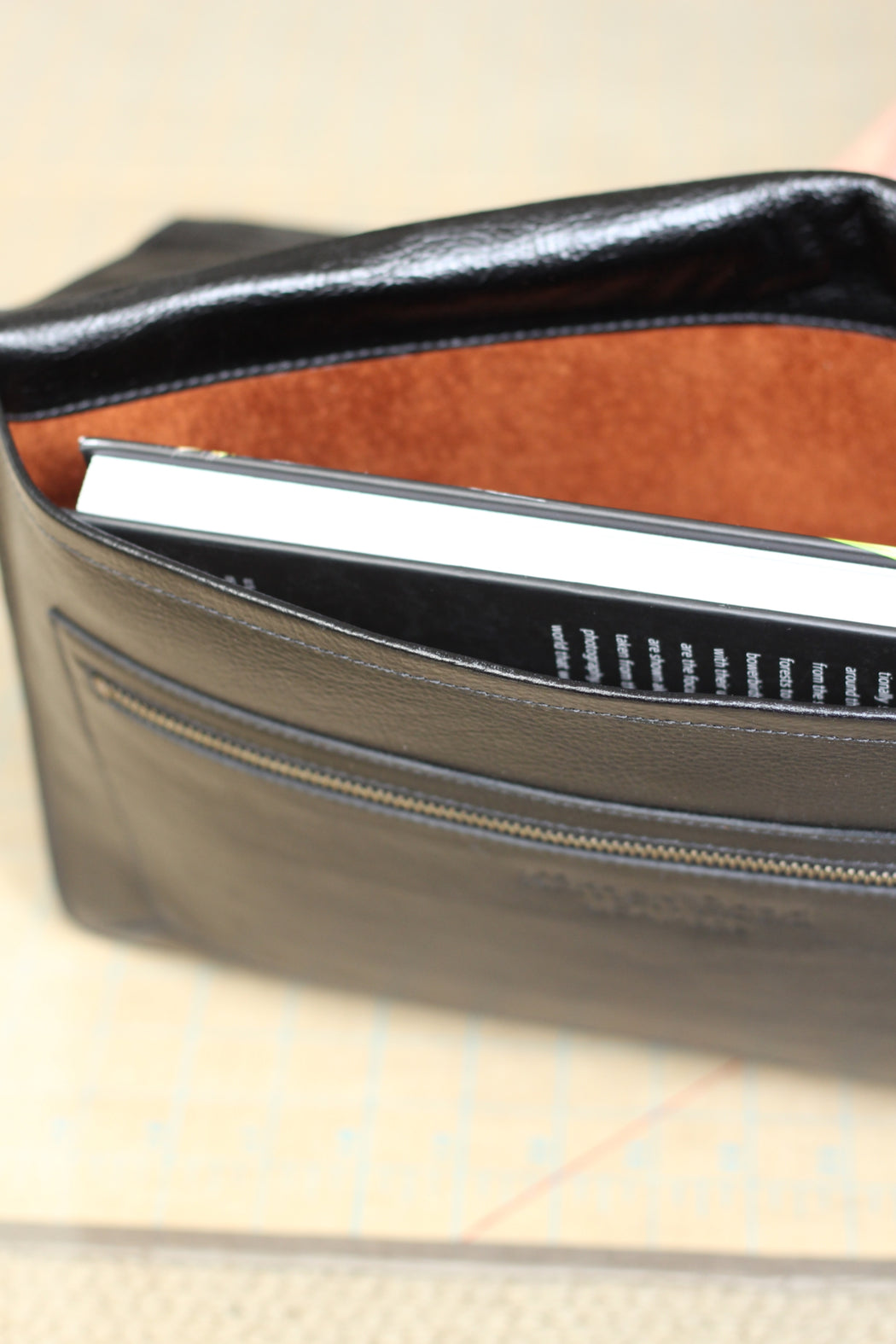 Leather and Suede Luxury Portfolio Case