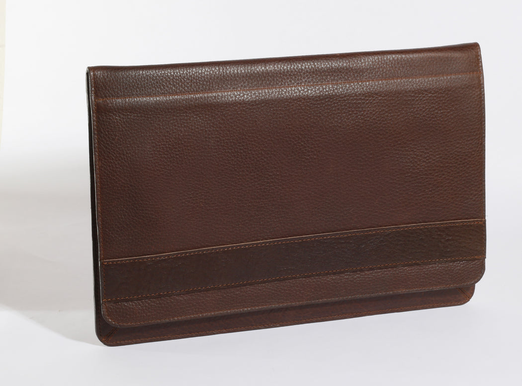 Leather Laptop Case. Made in USA