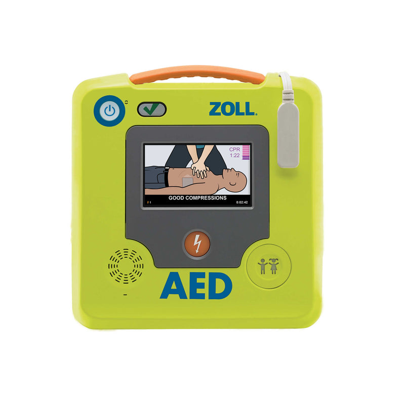 ZOLL AED 3 Semi Automatic Touchscreen with Adult/Child switch 5 yr Battery