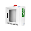 AED Wall Cabinet with Alarm & Flashing Light