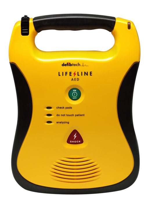 Defibtech AED  Lifeline Semi Automatic Defibrillator with 7 year battery