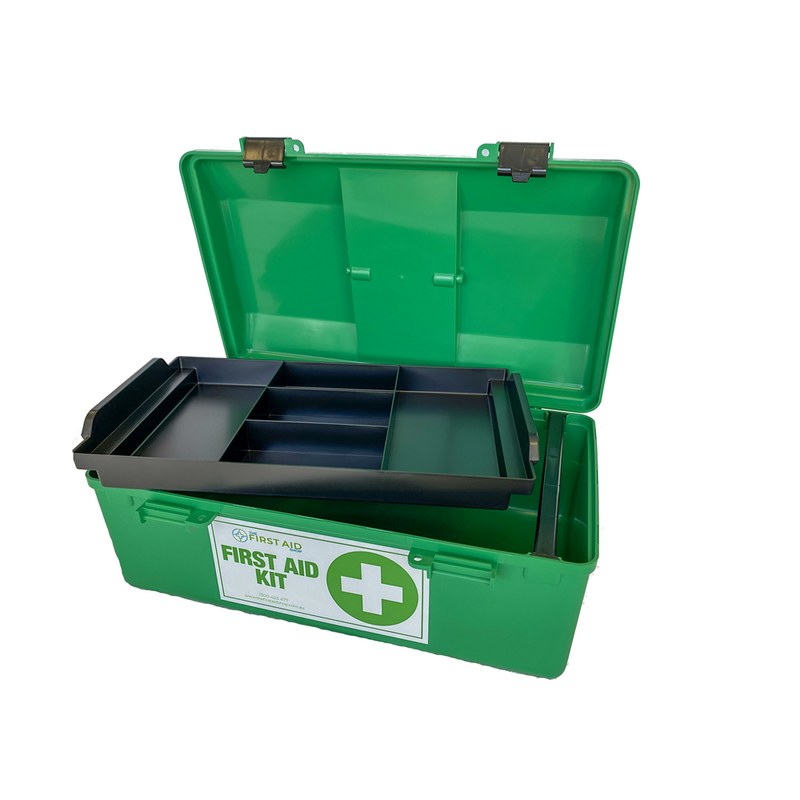 First Aid Box with tray