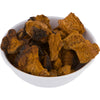 Chaga Mushrooms in a White Bowl